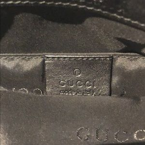 Gucci Bags - Authentic Gucci Black Canvas Bag